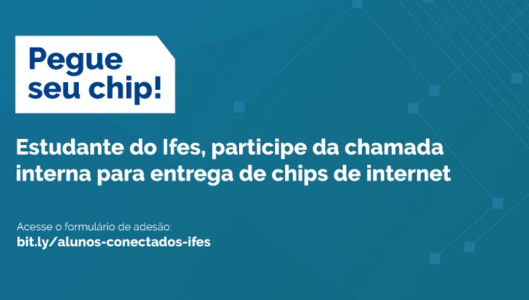 Ifes divulga chamada interna para entrega de chips de internet